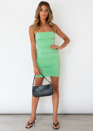 Risky Love Dress - Olive