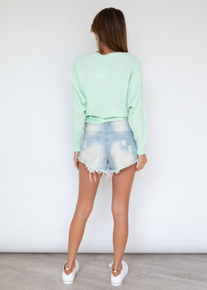 Pippy Sweater - Lime
