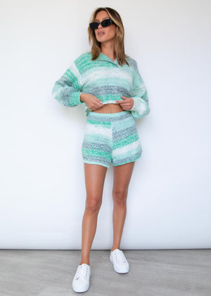 Chill Out Knit Set - Mint