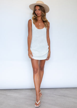 Byron Dress - White