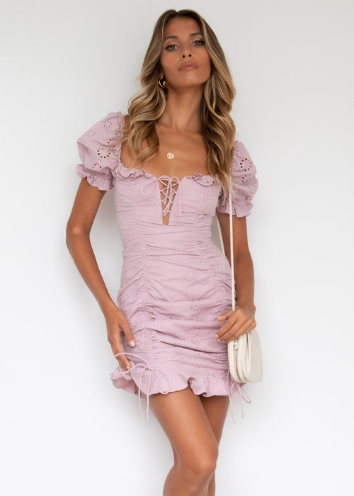 Star Power Dress - Blush