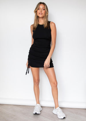 Keelee Knit Dress - Black