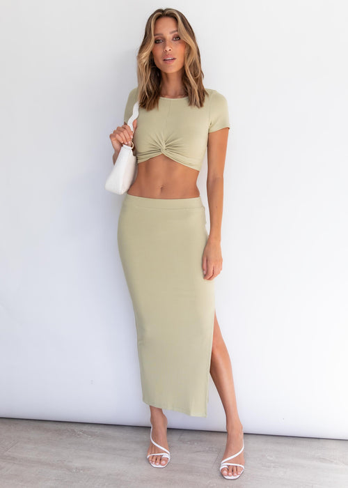 Penelope Crop - Mint