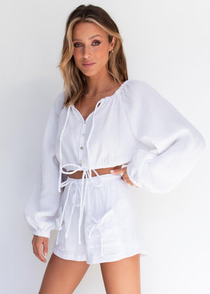 Reece Top - White