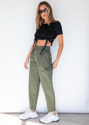 Upgrade You Cargo Pants - Khaki