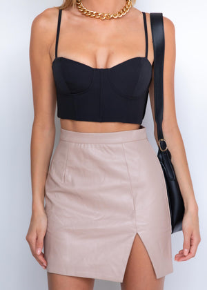 Yazi Crop - Black