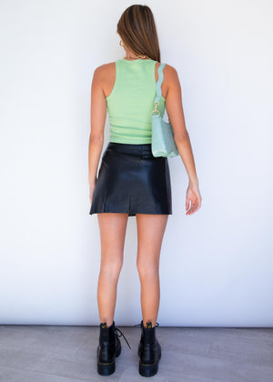 Polly Crop - Lime