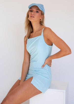Pisces Mini Dress - Blue
