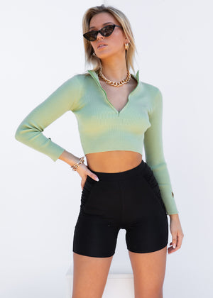 Brax Knit Top - Mint