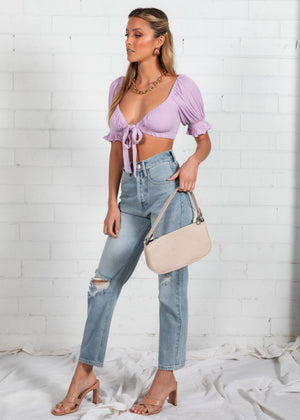 Bella Crop - Lilac
