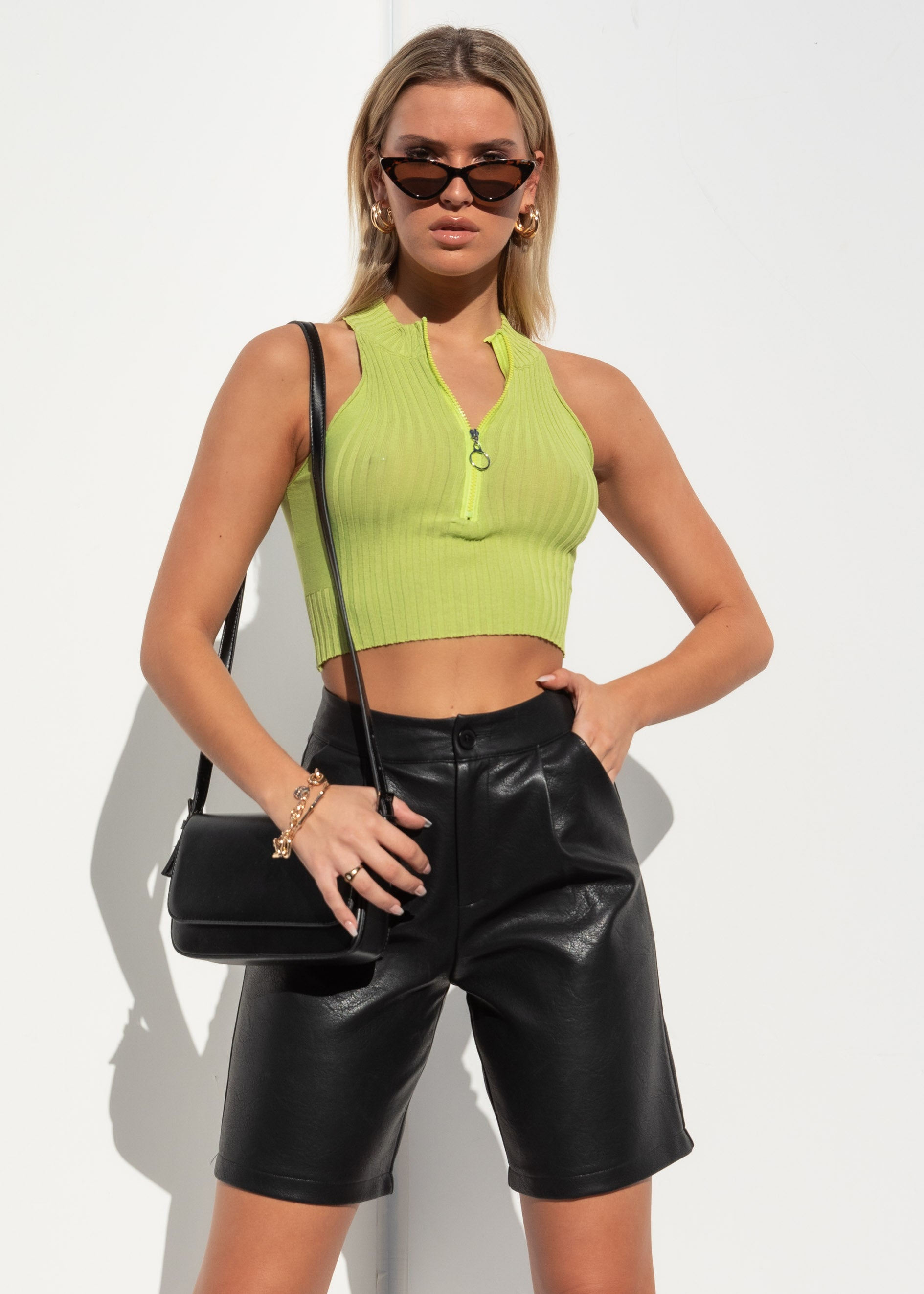 Baby Gal Top - Green