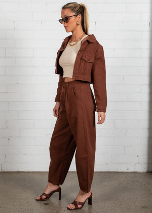 The Mickey Jacket - Brown