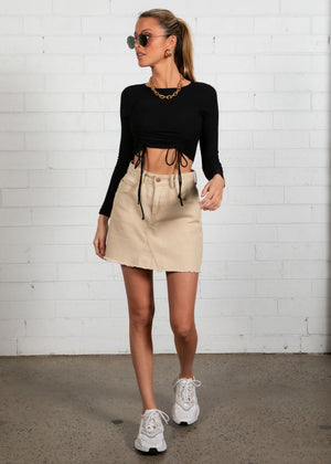 Harmony Crop - Black