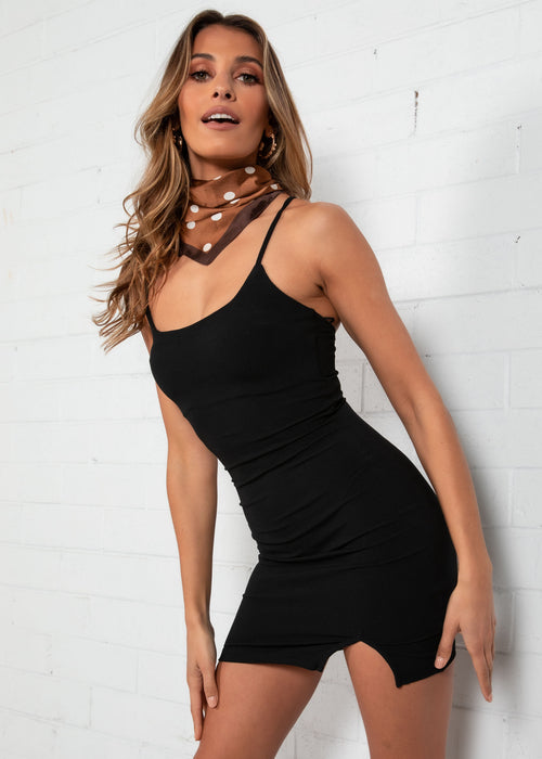 Electra Mini Dress - Black