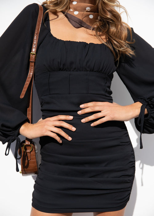 Ramona Mini Dress - Black