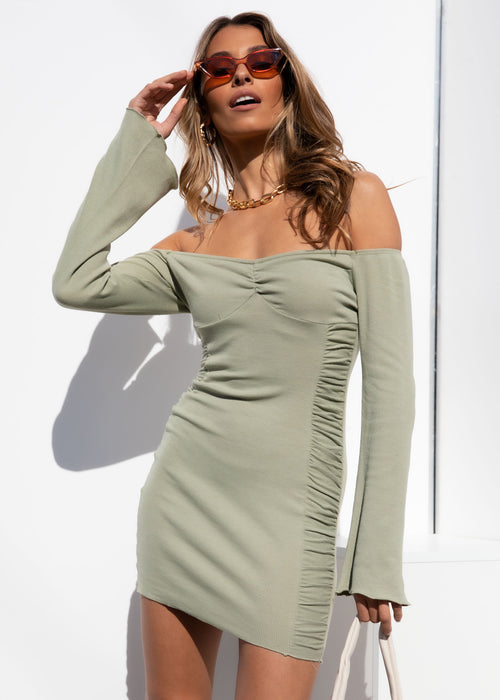 Layla Mini Dress - Sage