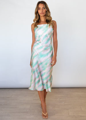 Soulmate Midi Dress - Mint