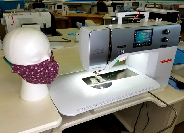 Help us make masks with a sewing machine