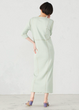 HENRY NECK LONG DRESS