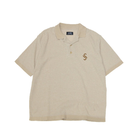 """S Matisse"" Knit Polo Shirt"