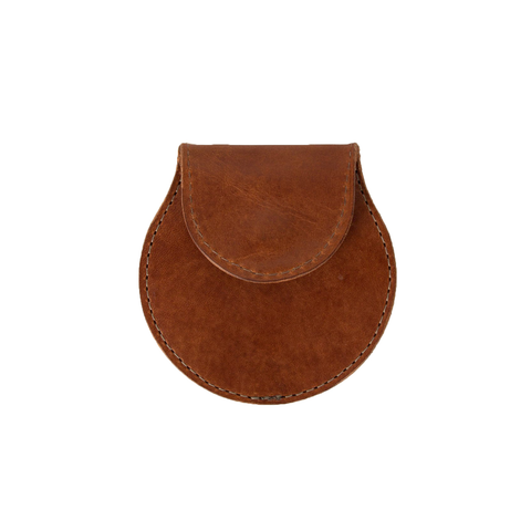 Travel Coin Pouch (Brown)