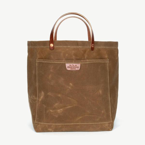Coal Tote (Brush Brown)