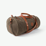 The Weekender with shoulder strap (Field Tan)
