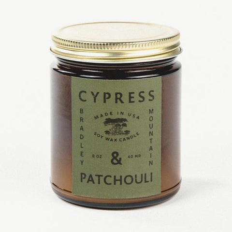 Cypress  & Patchouli (Amber Series Candle)