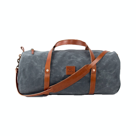 The Weekender with shoulder strap (Charcoal)