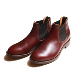 ELASTIC SIDE BOOTS (BURGUNDY)