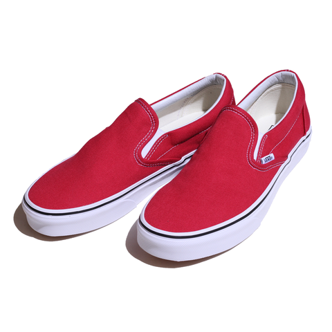 SLIP ON (CRIMSON/T.WHT)