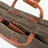 Courier Briefcase (Field Tan)