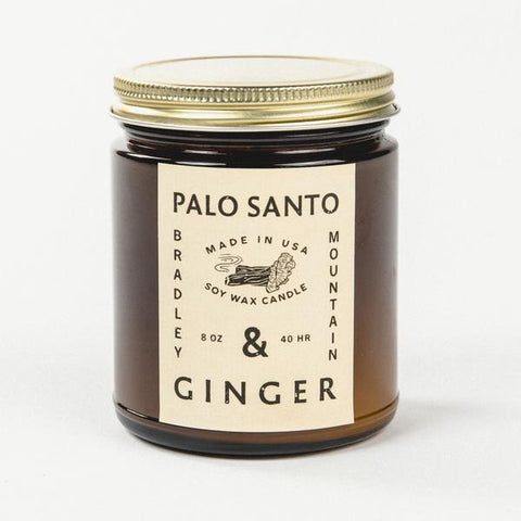 Palo Santo & Ginger (Amber Series Candle)