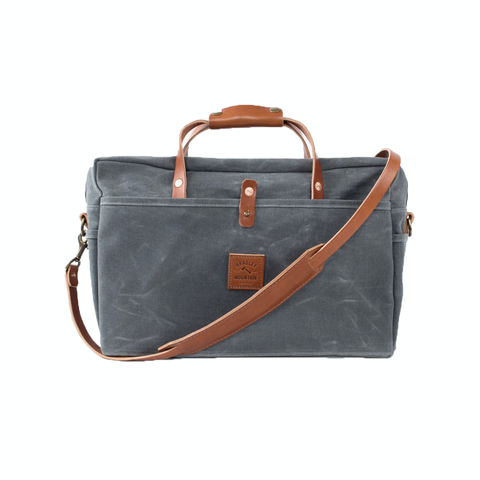 Courier Briefcase (Charcoal)