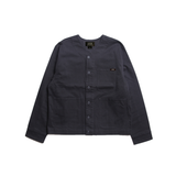 Stretch Twill No Collar Jacket