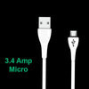 308_Premium Super Fast Charging 3.4 Amp Micro USB Data and Charging Cable