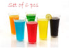 630 Stylish look Juicy Glass, Transparent Glasses Set 300ml (6pcs)