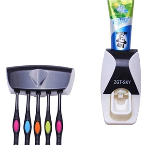 200 Toothpaste Dispenser & Tooth Brush with Toothbrush
