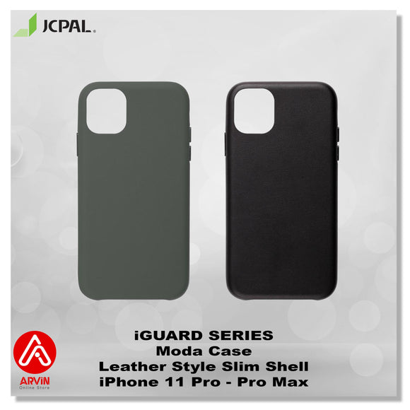 JCPAL iGUARD Series Moda Case Leather Slim Shell - iPhone 11 Pro Max