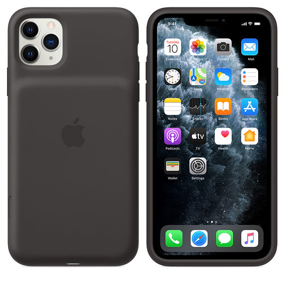 iPhone 11 Pro Max Smart Battery Case with Wireless Charging