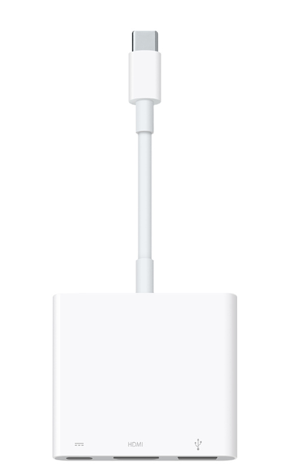 Apple USB C AV Multiport Adapter - MJ1K2