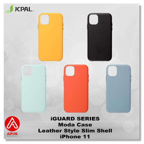 JCPAL iGUARD Series Moda Case Leather Slim Shell - iPhone 11