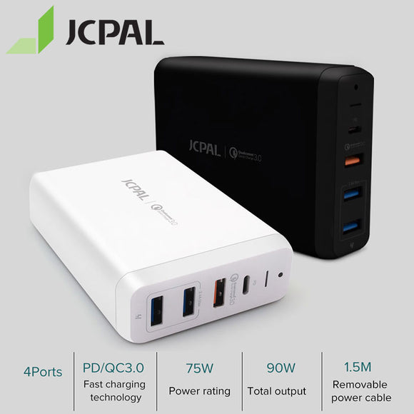 JCPAL Elex Series USB-C PD Multiport Desktop Charger