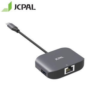 JCPAL Linx Series USB-C To Gigabit Ethernet Adapter