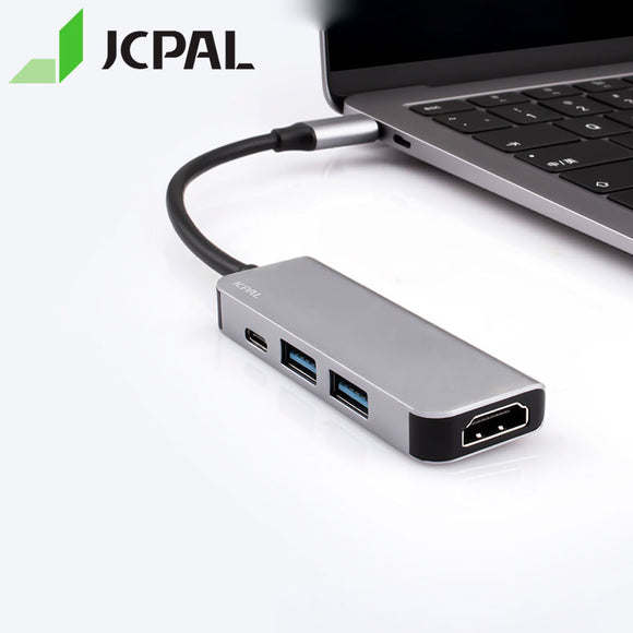 JCPAL Linx Series USB-C To HDMI Adapter