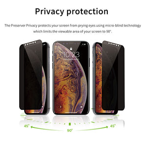 JCPAL Preserver Privacy Glass Screen Protector