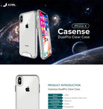 JCPAL iGuard DualPro Clear Case iPhone XR