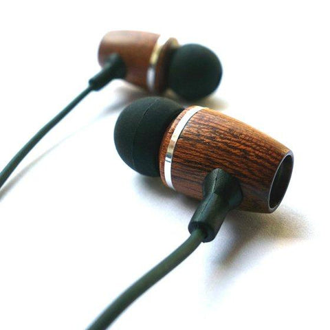 Darn Cheap Exotic Wood Earbuds