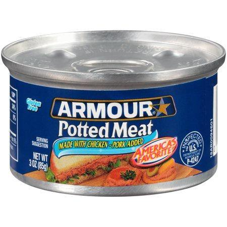 Armour Potted Meat - 3oz - Darn Cheap Discounts