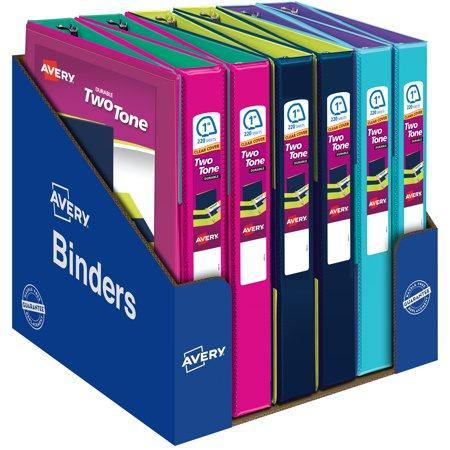 Avery Durable Two-Tone Binder (Assorted) - Darn Cheap Discounts